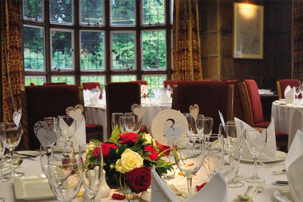 Jacobean suite wedding breakfast