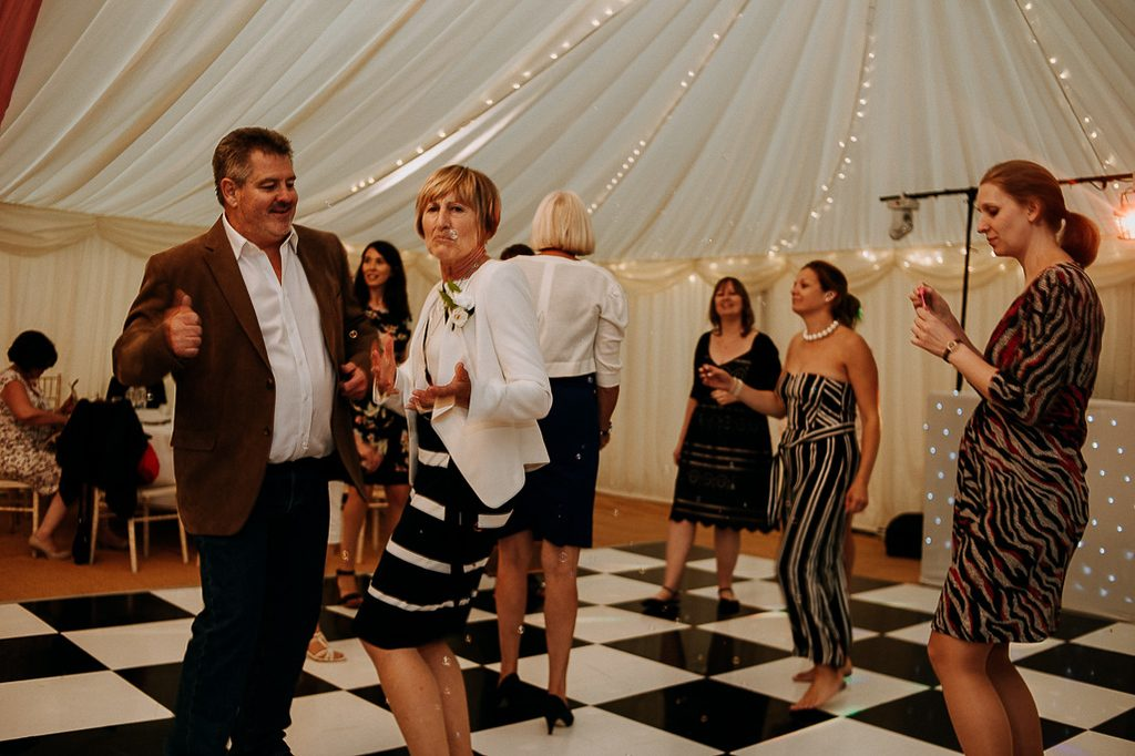 guests having a dance