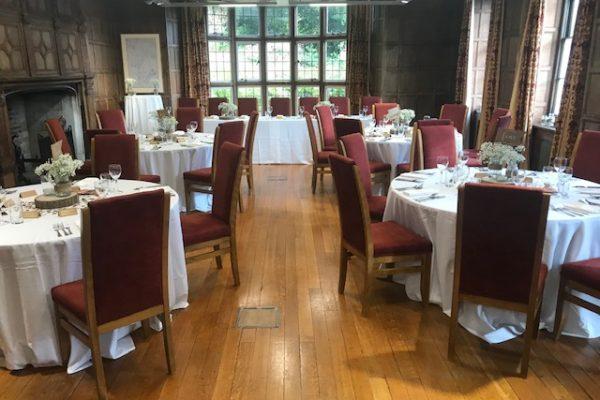 Jacobean Suite Layout for wedding breakfast